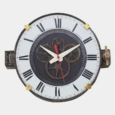 chicago factory wall clock shop cool material