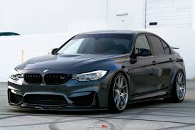 bmw m3 stanced lowered bmw m3 sedan with a front bumper splitter u2014 carid com gallery
