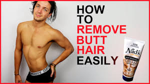 male pubic hair trends how to remove butt hair easily men s grooming youtube