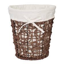decorative waste basket simple decorative wastebaskets design