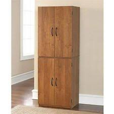 Storage Cabinets Kitchen Pantry Cabinet Ebay