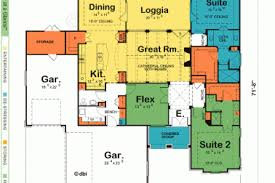 house plans with in suite 23 ranch house plans 2 master suites mountain craftsman with 2