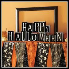 Halloween Decorations Grandin Road Easy Peasy Pennant Banner Tutorial The Darling Bakers