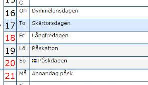 Kalender 2018 Helgdagar Vilka Dagar är Röda Dagar I Sverige 2017 Högtider Och Traditioner