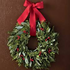 Halloween Wreaths Michaels by Guides U0026 Ideas Red Berry Wreath Boxwood Wreath Michaels Wreaths