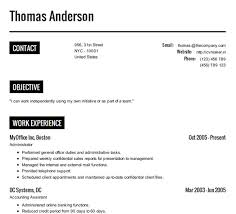 Create Online Resume Website by Create Resume Templates