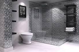Grey Mosaic Bathroom Gray Mosaic Bathroom Brightpulse Us