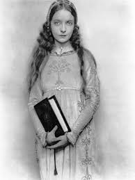 lillian gish with book in hand acts in romola a 1924 silent