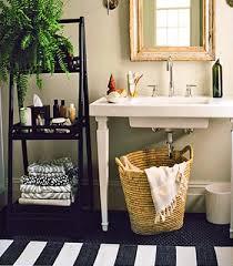 interesting basic bathroom decorating ideas walls and black tile