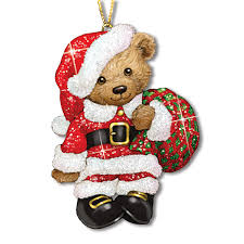 teddy glitter ornaments your 1st one is free the danbury