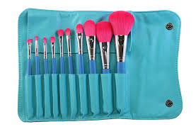amazon com morphe 10 piece vegan makeup brush set set 680 beauty
