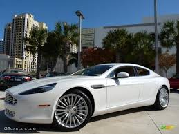 aston martin sedan 2011 morning frost white aston martin rapide sedan 41743155