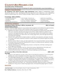 Attorney Resume Template Legal Resume Examples Free Resume Example And Writing Download