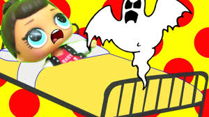 happy ghost clipart lol surprise doll ghost sleepover part 7 youtube