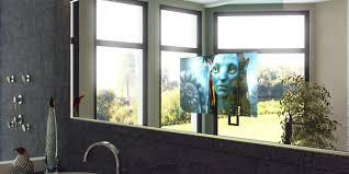 tv in a mirror bathroom tv mirror diy kit tv mirror glass dielectric home decor