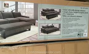 Sectional Sofa With Chaise Costco Costco Sectional Sofa With Recliner Www Energywarden Net