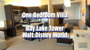 bay lake tower one bedroom villa magic kingdom disney vacation