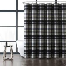 buy grey and black shower curtains from bed bath u0026 beyond