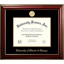 of illinois diploma frame of illinois at chicago graduation diploma frames by