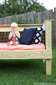 Diy Outdoor Daybed Amazing Diy Outdoor Daybed With Diy Outdoor Daybed With Canopy