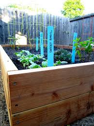 how to build a raised garden bed with supply list step by step