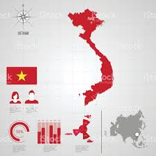 Asia World Map by Hongkong Flag Asia World Map Stock Vector Art 518626567 Istock