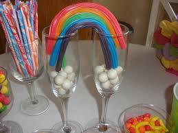 Candy Themed Centerpieces by Best 25 Rainbow Centerpiece Ideas On Pinterest Birthday