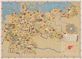 map germnay german travel map 1930s x post r europe 9492 6939 map porn