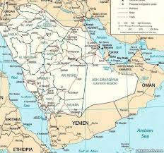 rub al khali map image gallery of rub al khali desert map