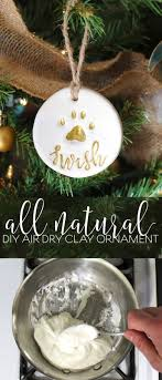 diy salt dough puppy paw print ornaments recipe