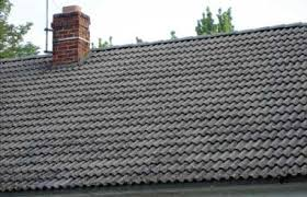 Cement Tile Roof 0873 2308 Mtdc Early 20th Century Building Materials Siding And