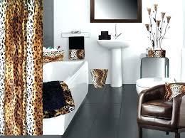 Leopard Bathroom Rugs Leopard Print Bath Rug Photo 3 Of 6 Animal Print Bathroom Rugs