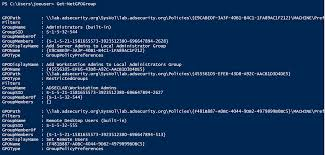 scanning for active directory privileges u0026 privileged accounts