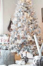 white trees happy holidays