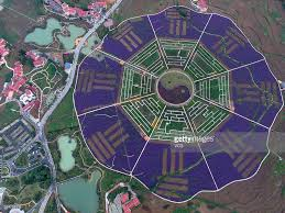 300 Square Meters Aerial View Of A Botanic Garden In Guizhou Photos And Images