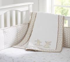 rabbit crib bedding nursery bedding pottery barn kids