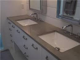 Cement Bathroom Vanity Top Coletti Concrete Studio Kitchen Bath Gallery