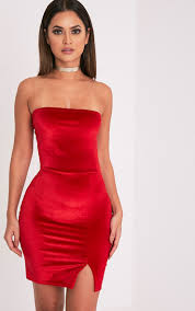 lauriell red wrap front crepe midi dress date functions