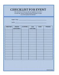 checklist manual template free manual templates