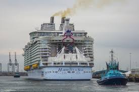 falmouth to welcome new largest cruise ship in the world harmony