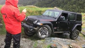 huge jeep wrangler news exclusive photos of the 2018 jeep wrangler in action