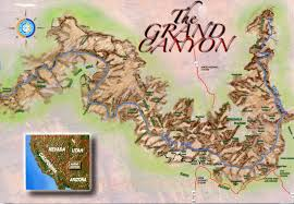 Grand Canyon Maps Grand Canyon In Your Hand Postally Yours