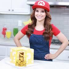 loved making this mario question block surprise cake on
