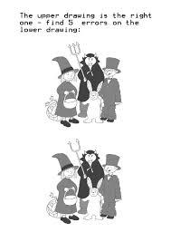 halloween find five errors 1 clipartqueen u0027s blog