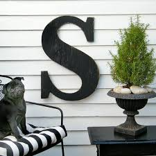 24 extra large letter wall decor wooden letter big