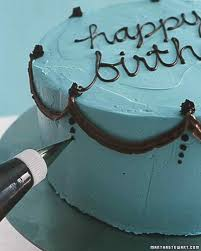 How Decorate Cake At Home How To Decorate A Birthday Cake Martha Stewart