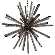 sputnik chandelier dark gray murano glass sputnik chandelier jean marc fray