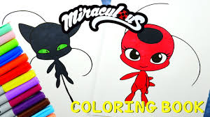 miraculous ladybug coloring book pages kwami tikki plagg evies