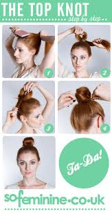 best 25 easy top knot ideas on pinterest hair knot tutorial
