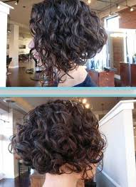 curly and short haircut showing back best 25 curly stacked bobs ideas on pinterest short perm what